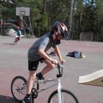 Pyöräillen Ruhaan
